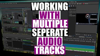 Using Multiple Audio Tracks In OBS, Audacity and Kdenlive