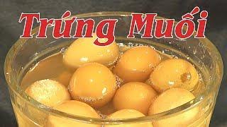 TRỨNG MUỐI - Cách Làm Trứng Muối Tại Nhà Đơn Giản, Không Tanh - By Nguyễn Hải