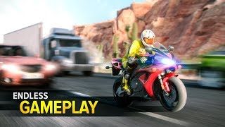 Highway Rider Motorcycle Racer - Gameplay Android & iOS Game - racing challenge in Highway Rider