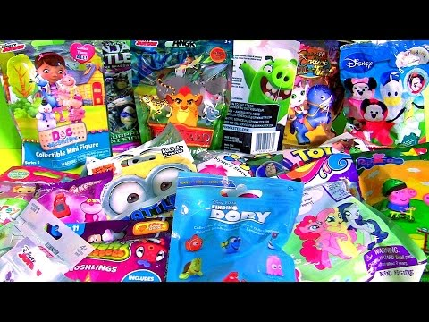 The Angry Birds Movie SURPRISE TOYS 4 Pets Finding Dory Lalaloopsy Frozen Sofia Toy Story