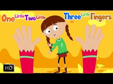 One Little Two Little Three Little Fingers | Ten Little Fingers | Finger Family Song |