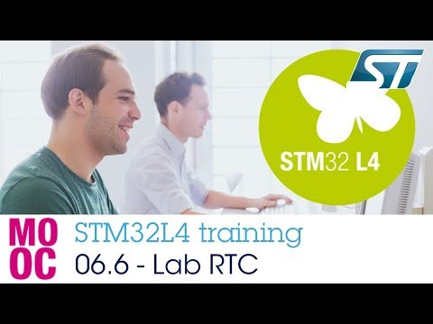 STM32L4 Training: 06.6 Timers - Hands-on RTC
