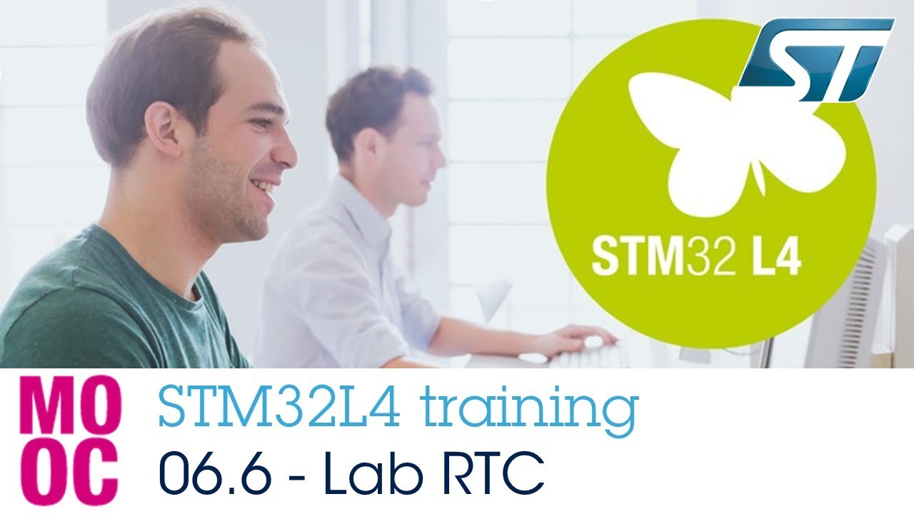 STM32L4 training: 06 6 Timers - Hands-on RTC