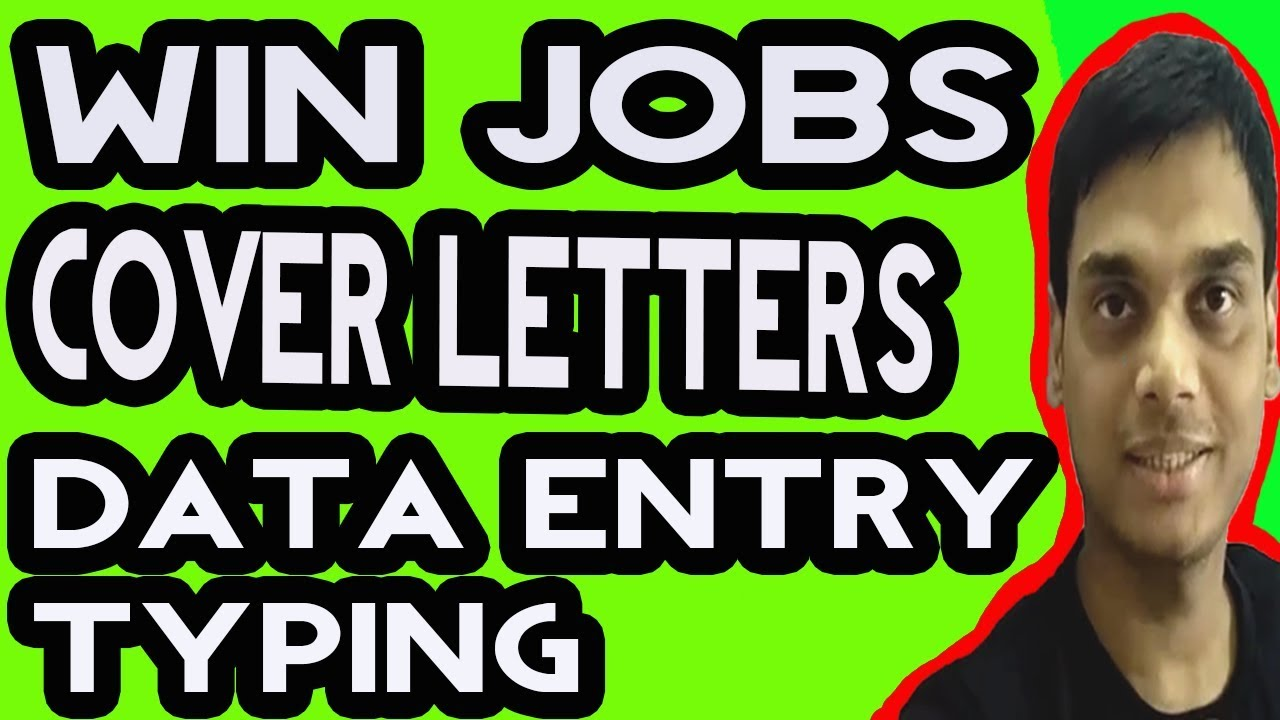 Upwork Sample Cover Letter For Data Entry And Typing Win Jobs On
