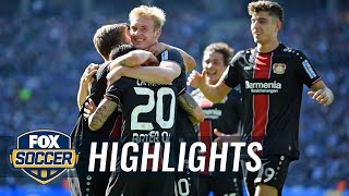 Hertha BSC Berlin vs. Bayer Leverkusen | 2019 Bundesliga Highlights