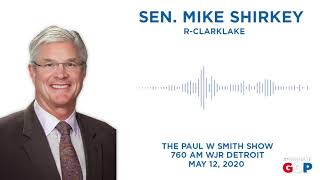 Sen. Shirkey joins the Paul W Smith Show on WJR