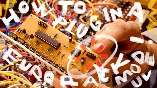 How To Plug a Eurorack Module In, Correctly (Eurorack Power 101)