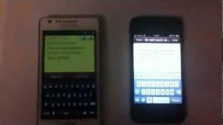 iphone 4s siri deutsch vs google voice actions goethe faust iphone 4s vs samsung galaxy s2