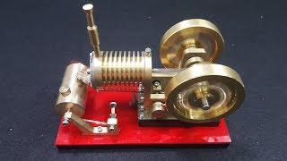 V4 - Stirling Engine Model Educational Discovery