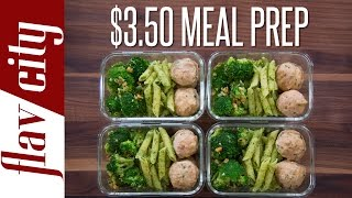 How to meal prep on a budget! cheap for $3.50/meal i'm showing budget without slacking quality. my healthy ideas...