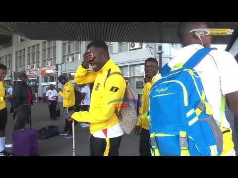Tazama jeshi la Asante Kotoko lilivyotua Dar leo kuivaa Simba SC