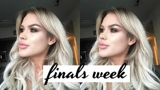 finals week, new workout app and new beauty haul | DailyPolina