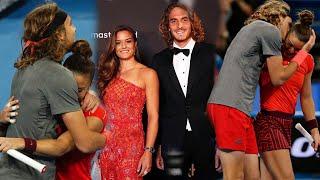 Stefanos Tsitsipas and Maria Sakkari Beautiful Moments #Shorts