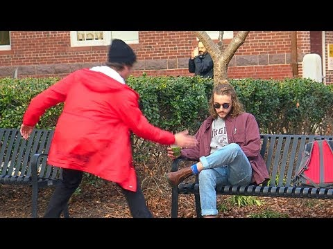 Smacking Peoples Drinks Prank