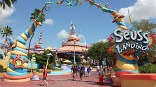 HD Tour of Seuss Landing at Islands of Adventure - Universal Orlando