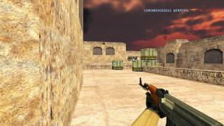 "Na`Vi tactics @ split 3,2 ""A"" plant de_dust2 (Counter-Strike 1.6)"