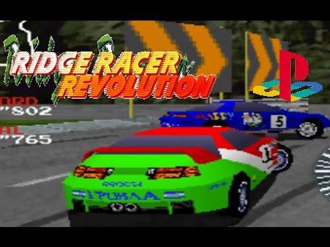 Ridge Racer Revolution playthrough (Playstation)