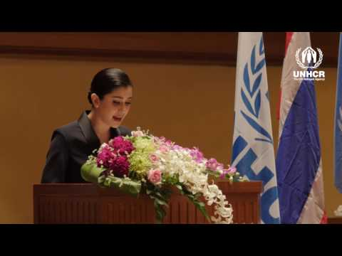 UNHCR Goodwill Ambassador Appointment: Praya Lundberg's speech