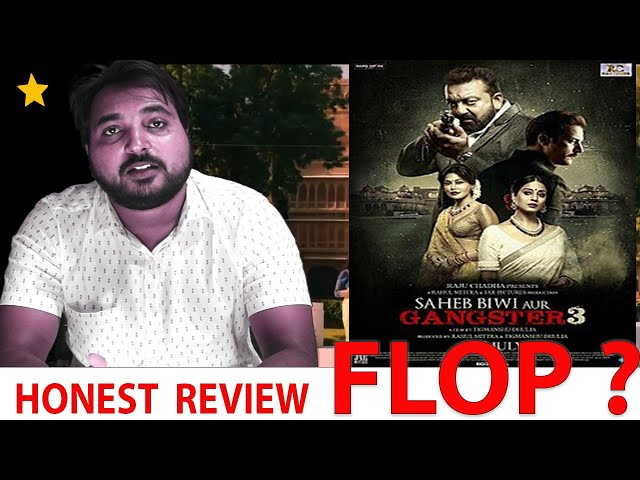 Saheb Biwi Aur Gangster 3 Film Review| thefilmreview.in