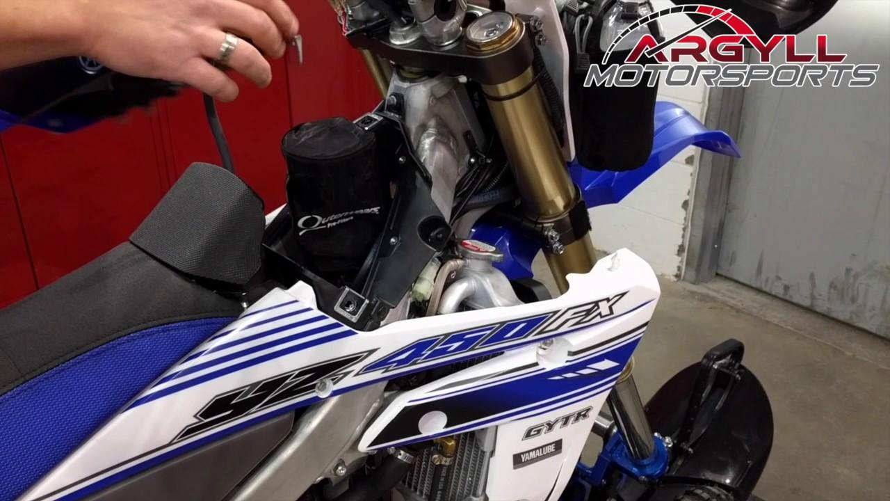 Snow Plow Air Intake : Nitro yamaha snow bike with yeti mx youtube