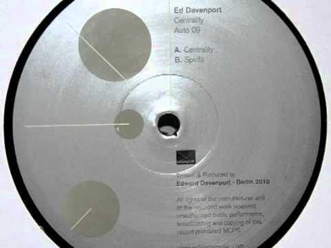 Ed Davenport - Centrality