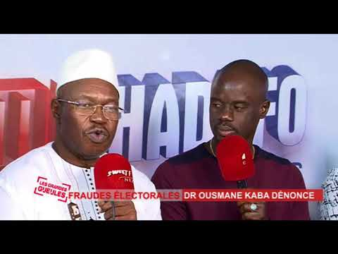 Dr Ousmane Kaba PADES sur les élections communales 2018