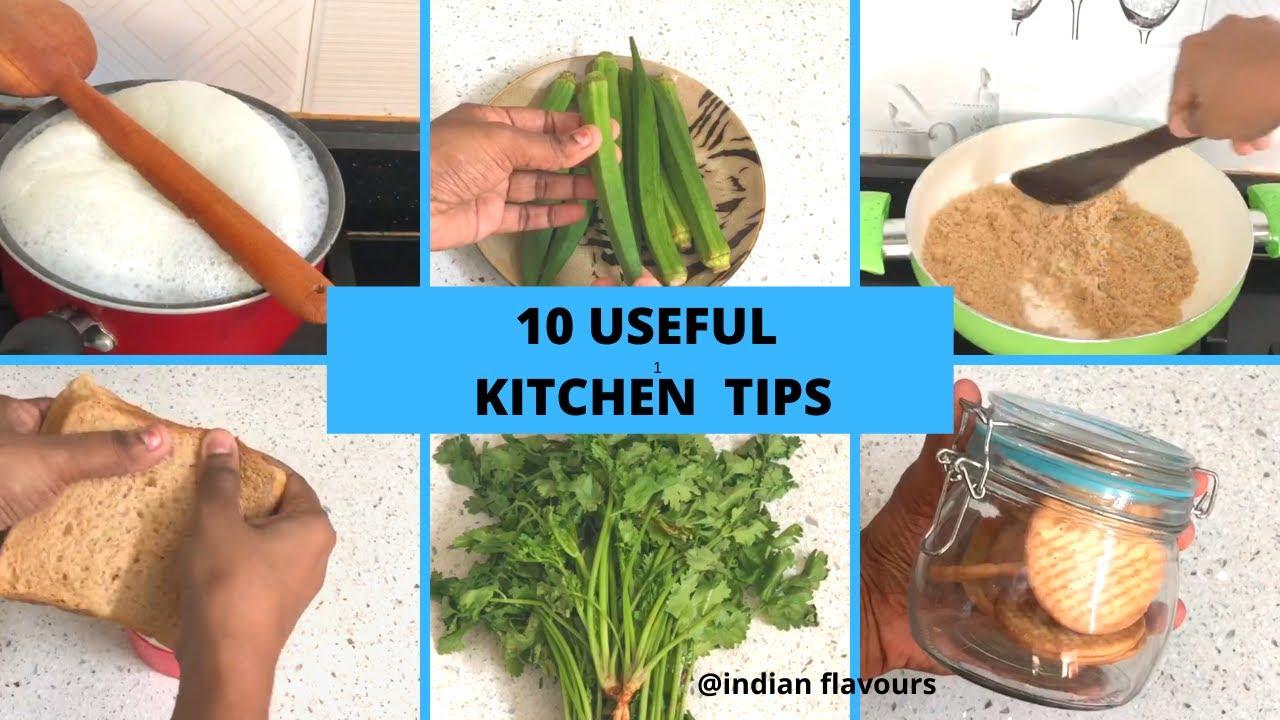 10 சமையலறை டிப்ஸ்/10 Useful Kitchen Tips&Tricks/10 மிக உபயோகமான Kitchen Tips/10 smart kitchen tips