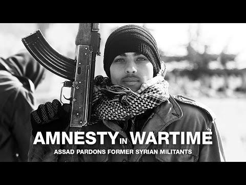 Amnesty in wartime. Assad pardons former Syrian militants.