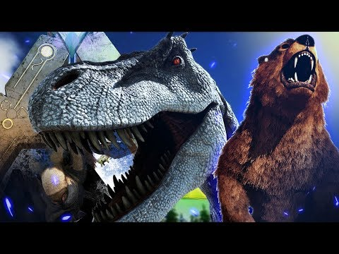 ARK Survival Evolved - THE NEW DINOS ARE HERE! - New Rex, Direbear & ALL SPECIALS! - TLC Update