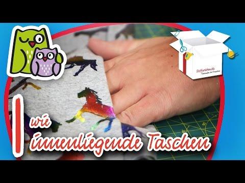 Innentaschen | Nählexikon A-Z #9 | Nähschule Anleitung Nähen lernen für Anfänger