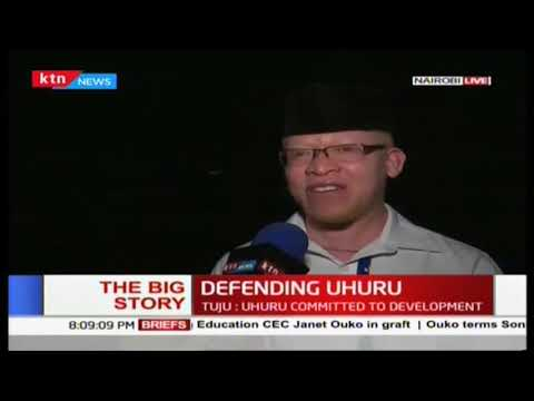 A section of Jubilee leaders take the mantle in defending President Uhuru |The Big Story