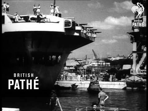 British Navy In Sydney (1945)