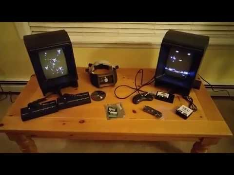 My vectrex collection and aftermarket enhancements