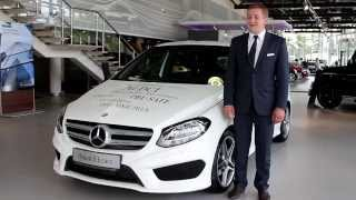 видео Хэтчбек Mercedes-Benz W246
