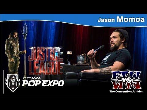 Jason Momoa (Aquaman, Game of Thrones) - Ottawa Pop Expo