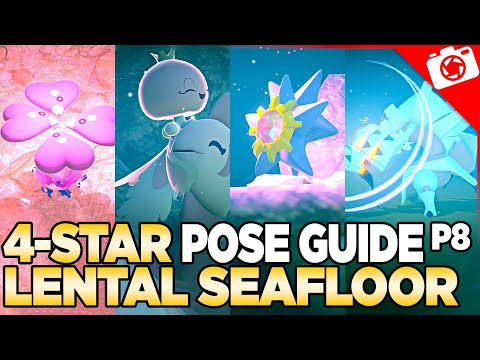 Lental Seafloor 4-Star Pose & Request Guide   New Pokemon Snap