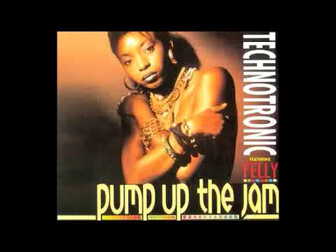 Technotronic Feat Felly Pump Up The Jam Original 1989 Youtube