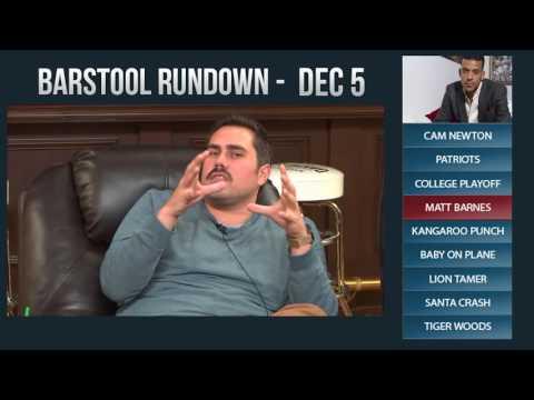 Barstool Rundown - December 5, 2016