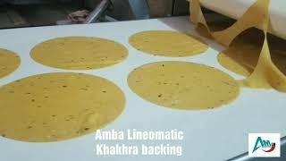 Gambar cover amba linenomatic khakhra backing