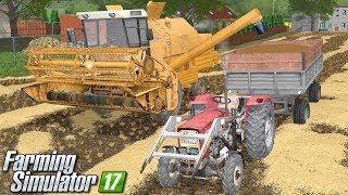 Żniwa Bizonem - Farming Simulator 17 (Górale V5) | #19