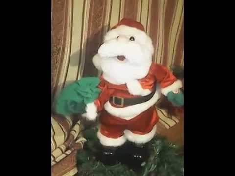 e06bfbfb44c18 Toy Santa sings Santa Claus is Coming to Town - YouTube