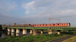 2019.8 中央線快速電車1629T E233系0代 トタT24編成(中央線開業130周年記念ラッピング)