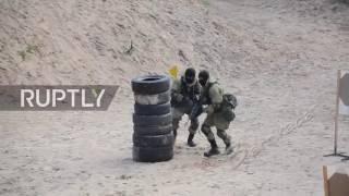 [AncientNews] Показательные тренировки Российского Спецназа