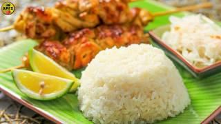 How to Cook Rice in Rice Cooker ( briefly) _  (كيف لطهي الأرز في طباخ الأرز (لفترة وجيزة