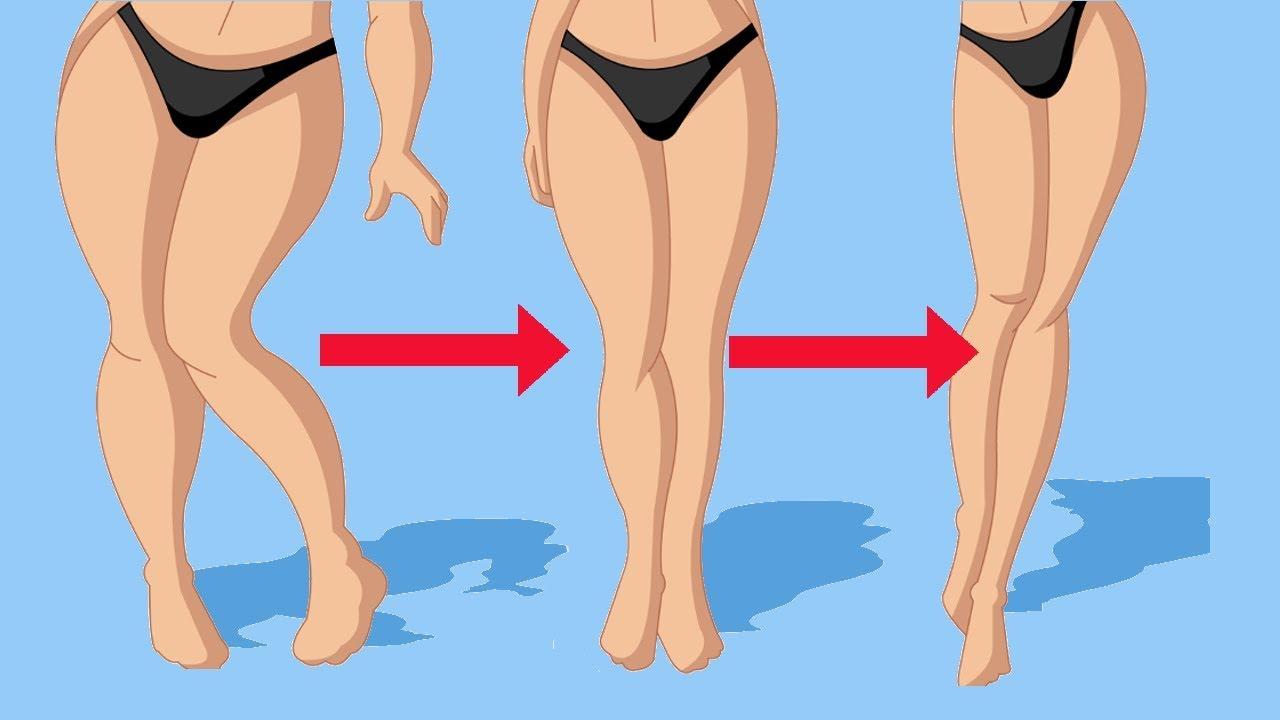 как похудеть быстрее в ногах по ночам