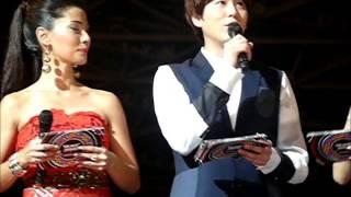 "130309 Music Bank Jakarta - MC Kyuhyun (part 5) + asking ""Where"