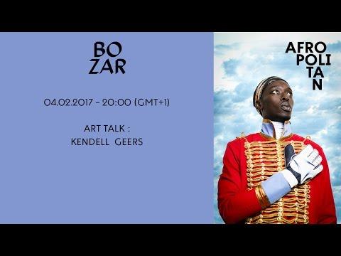 AFROPOLITAN FESTIVAL 2017 - ART TALK : KENDELL  GEERS