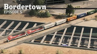 Cities Skylines: Train Crossing - Bordertown - EP5 -