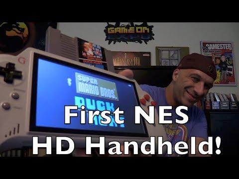 New 8-Bit Boy Portable HD NES Handheld Review - Gamester81