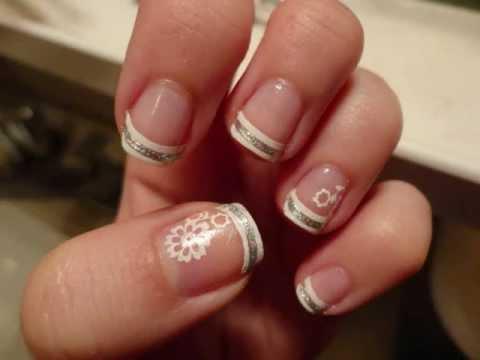 nail art elegante targata essence  youtube